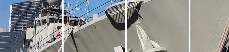 Handrails & palelts for ships
